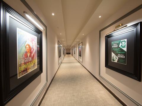 CommunalcorridorsatDenhamFilmStudios,withmovieposters.jpg