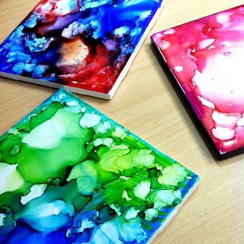 Custom Tile Coasters