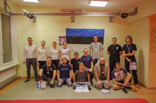 Первый в Эстонии турнир по Современному Мечевому Бою