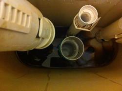 Leaking toilet - Handyman work
