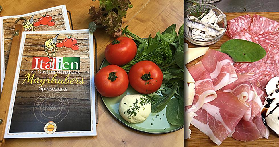 Kulinarische Reise quer durch Italien!