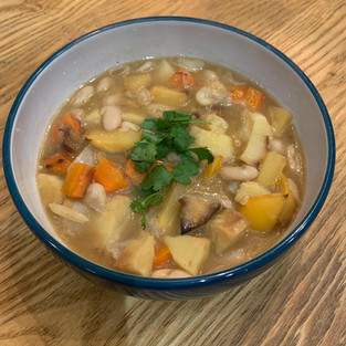 Chunky Root Vegetable Soup