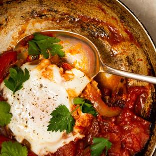 Shakshuka /Egg & Tomato Bake