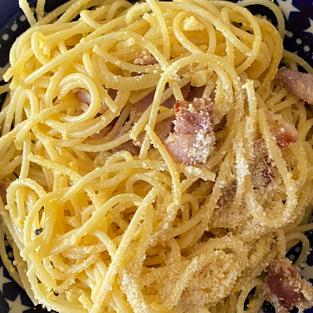 Speedy Spaghetti Carbonara