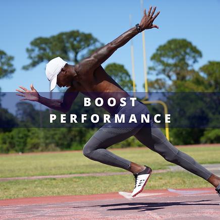 Boos Athletic Performance wih Nimbus Performance cm2 Technology