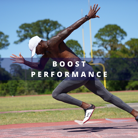 Boos Athletic Performance wih Nimbus Performance cm2 Technology