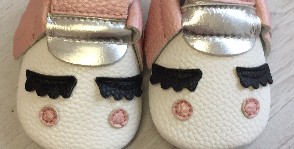 Unicorn Pink Pram Shoes