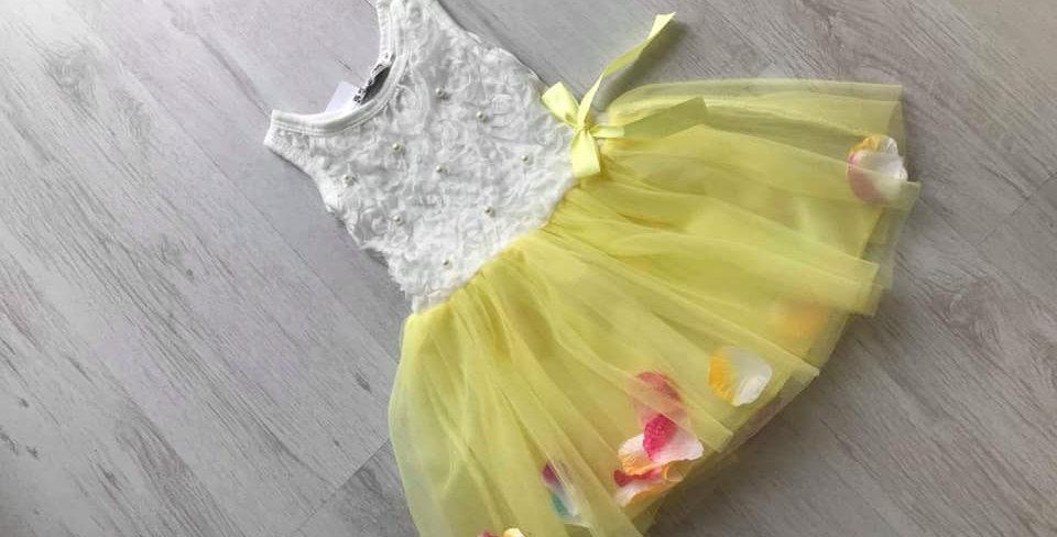 Blossom Yellow Dress
