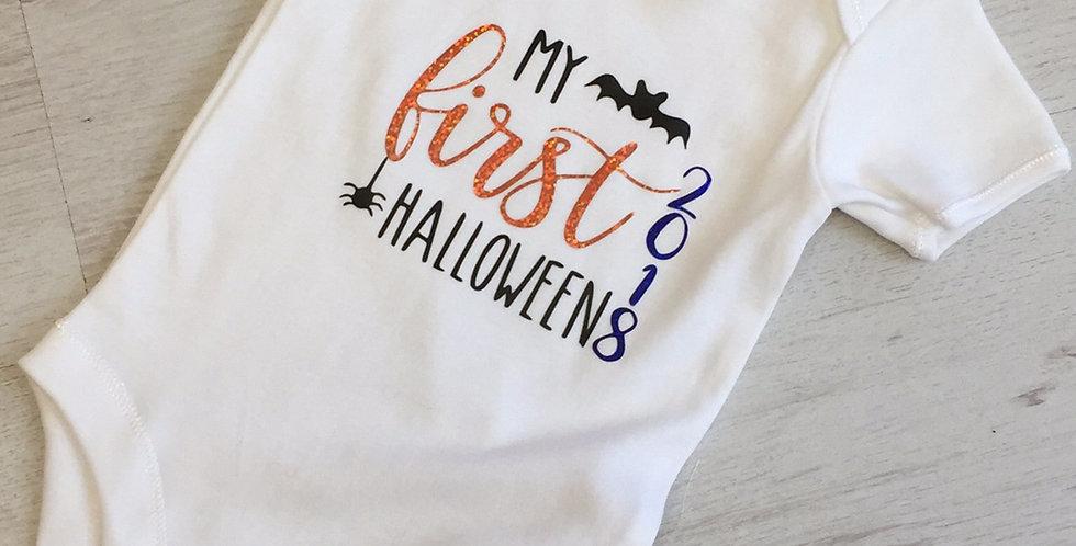 """""""My 1st Halloween"""" Babygrow"""