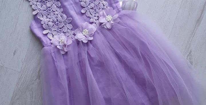 Daisy Lilac Dress