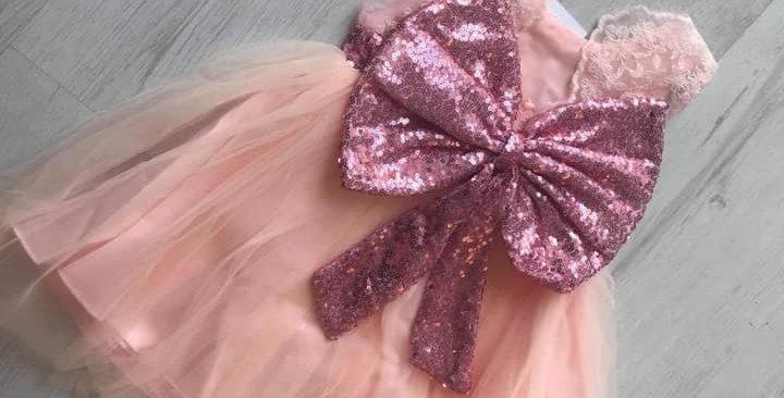 Poppy Lace Pink Dress