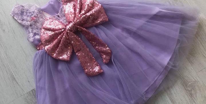 Poppy Lace Lilac Dress