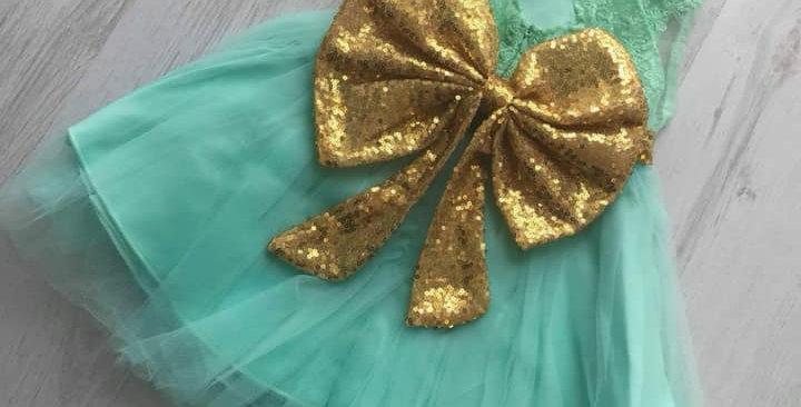 Poppy Lace Mint Dress