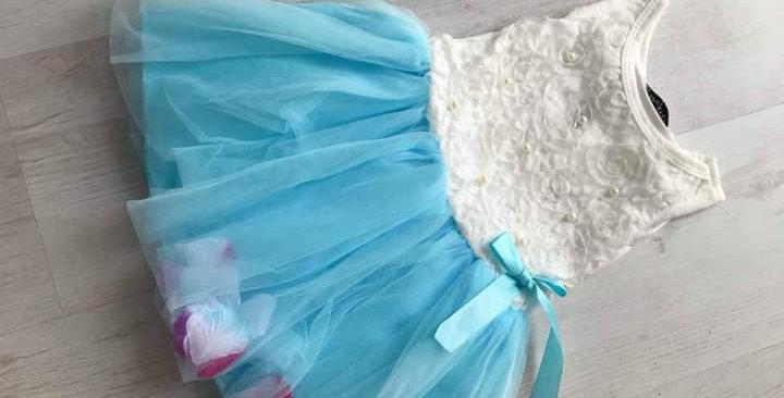 Blossom Blue Dress