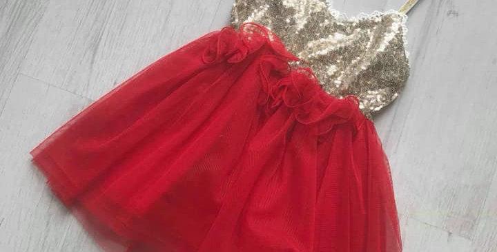 Jasmine Red Dress