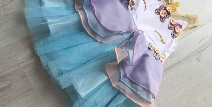 Unicorn Blue Dress