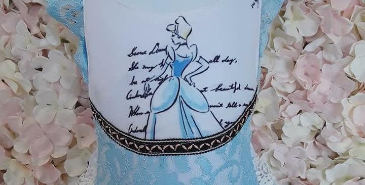 Cinderella Romper
