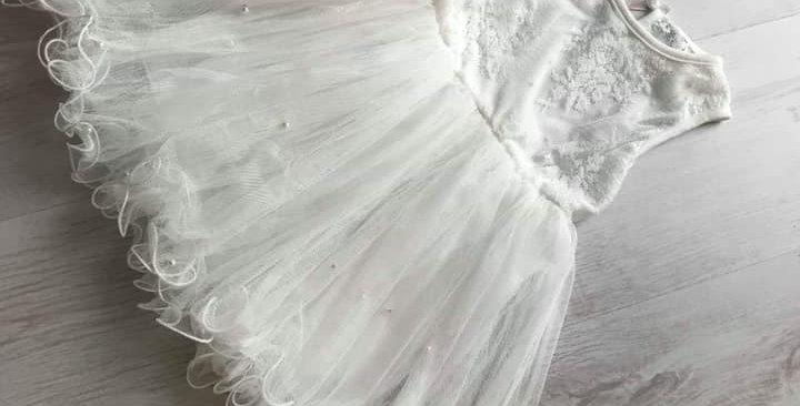 Azalea White Dress