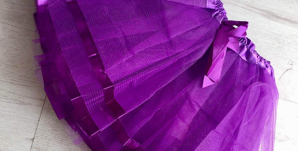 Ribbon Tutu Purple