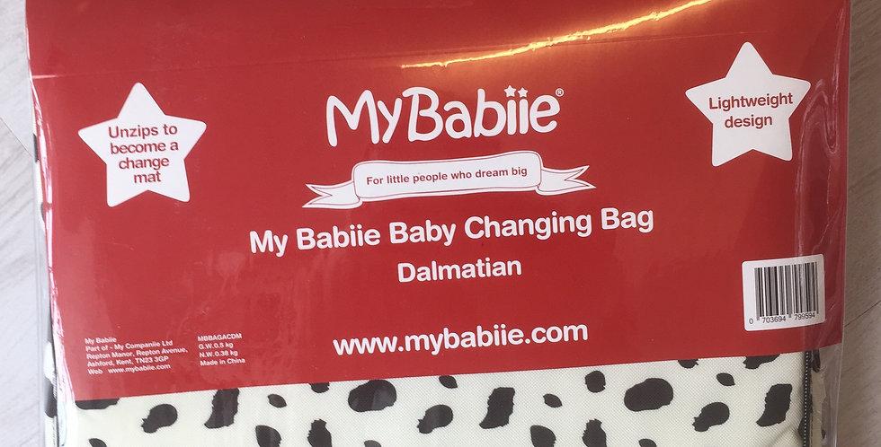 My Babiie Dalmatian Changing Bag