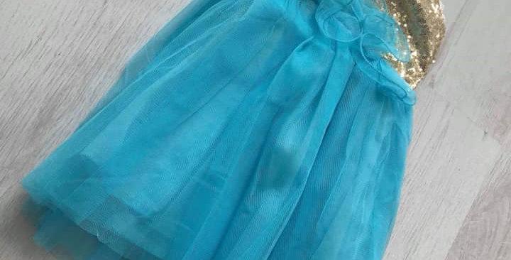 Jasmine Turquoise Dress