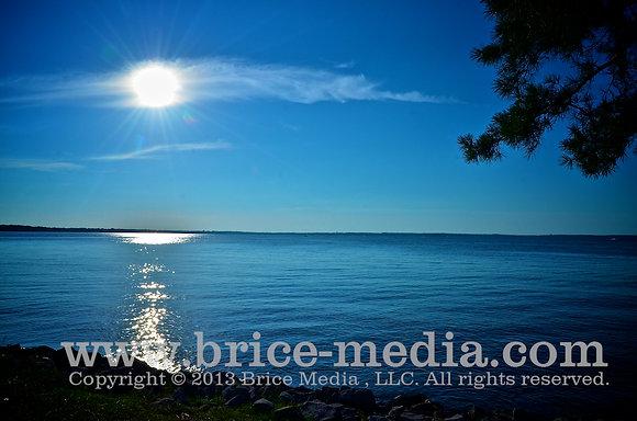 Shoreline Evening Sun