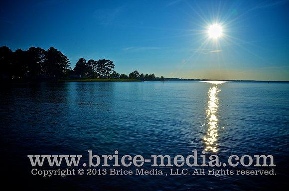 Sun Set Blue