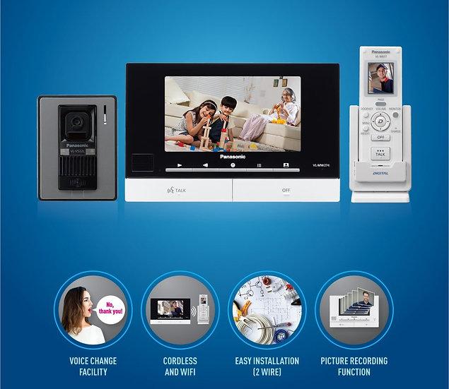 VL-SW274BX  Wireless VDO Intercom VL-MW274(Monitor)+VL-W617( Wireless)+ (Door)