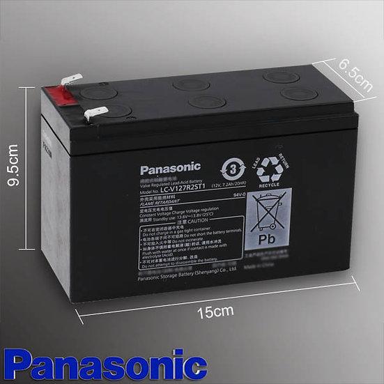LC-V127R2 แบตเตอรี่แห้งของแท้พานาโซนิค สำรองไฟดับ(Panasonic Battery Backup)