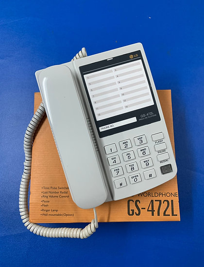 GS-472L  โทรศัพท์อนาล็อก  LG Single Line Phone