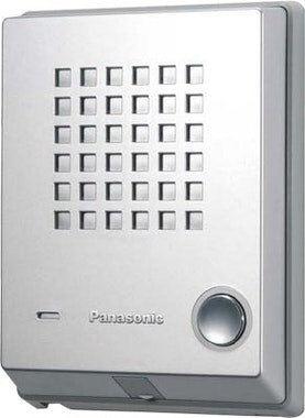 KX-T7765   Panasonic Door Phone ชุดกริ่งประตู (Door Unit) ,Metallic