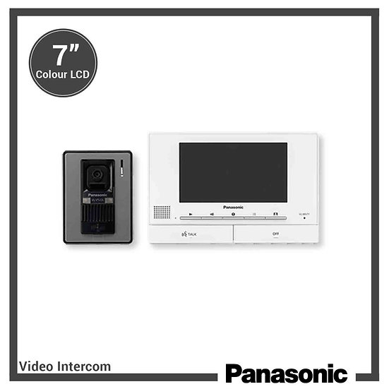 "VL-SV71BX  VDO Intercom Wide Color Monitor 7"" (VL-MV71BX+ VL-V522BX)"