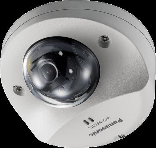 WV-S3531L  iPRO Extreme Panasonic  Dome Full HD,H.265,SD,Vandal,IP66