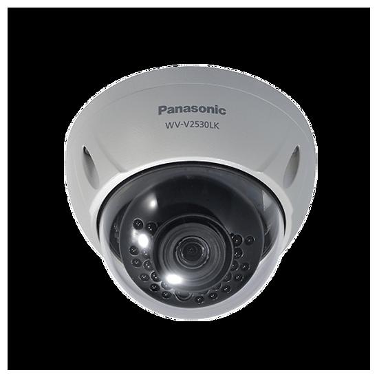 WV-V2530LK Panasonic Full HD Dome,H265,IP66,IR 30m,Fixed Lens 3.6 mm