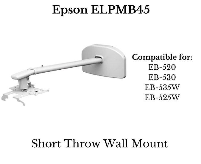 ELPMB45  EPSON Short-Throw Wall Mount for Projector EB-520/525W/530/535W