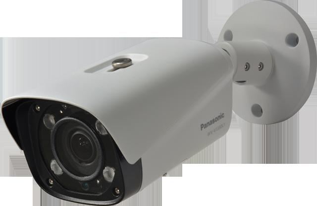 WV-V1330L1 Panasonic Full HD,Bullet H265,IP66,IR 60m,Varifocal Lens 2.7-12 mm.