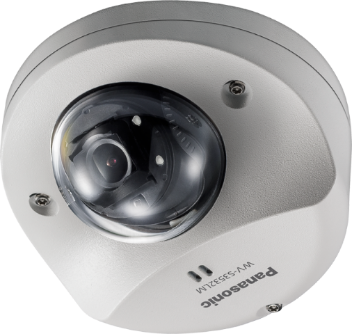 WV-S3532LM  iPRO Extreme Dome Full HD,Vehicle,H.265,IR LED,iA,Vandal,IP66