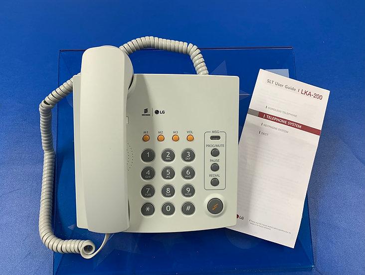 LKA-200W  โทรศัพท์อนาล็อก  LG/ERICSSON  Single Line Phone (White)