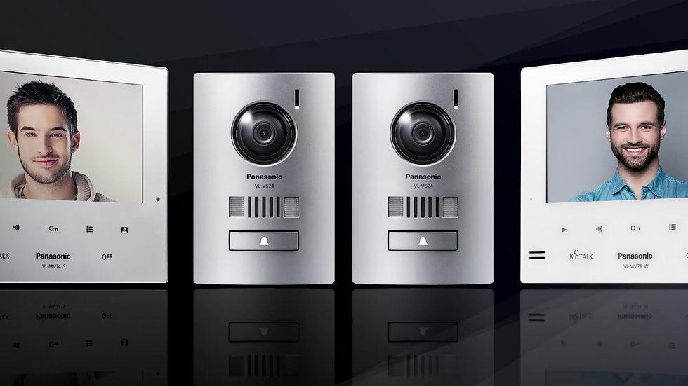 VL-SV74BX  VDO Intercom (Monitor VL-MV74BX+Door Station VL-V524BX) Slim