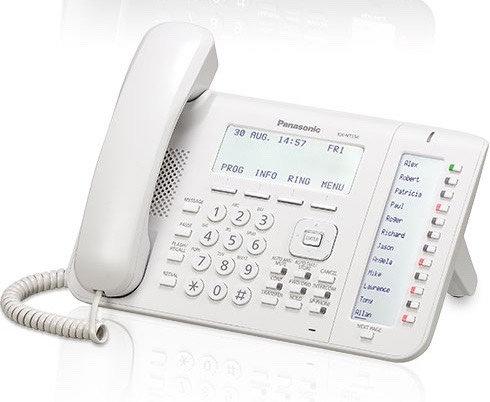KX-NT556X Panasonic IP Phone,Large LCD,36 Keypads