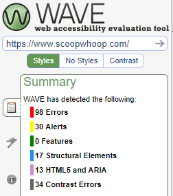 Page 1 Evaluation Summary