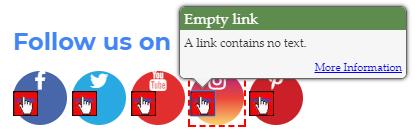 Empty link (2.4.4)