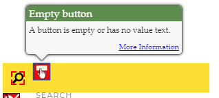 Empty button (1.1.1, 2.4.4)