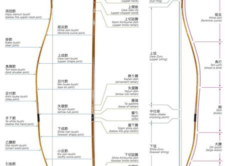 Yumi - Budowa Tradycyjnego Łuku Japońskiego
