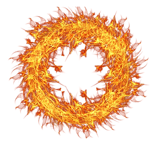 PNGPIX-COM-Fire-Flame-Circle-Transparent