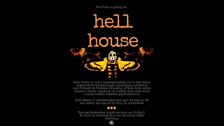The Vine: HELL HOUSE by CAG.