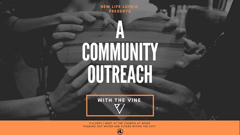 The VINE: A Community Outreach.