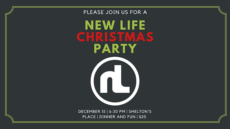 New Life Christmas Party
