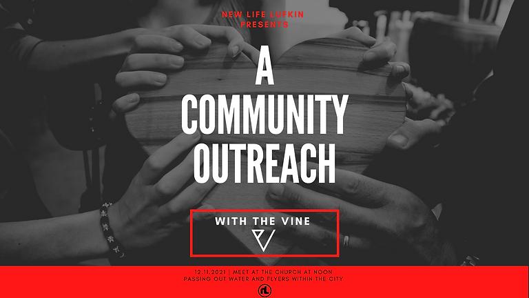 The Vine: Community Outreach.