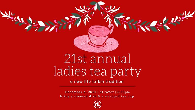 21st Annual Ladies Tea Party